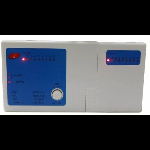 TESTADOR DE CABO DE REDE - COAXIAL - USB UTP BNC RJ11 RJ45