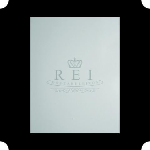 Tabuleiro para Bolo Quadrado Branco 45x45 cm.