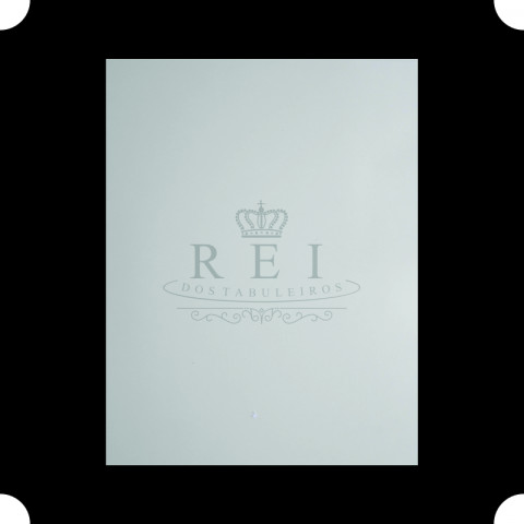 Tabuleiro para Bolo Retangular Branco 54x75 cm.