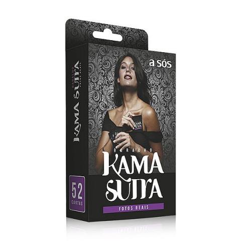 Baralho Kama Sutra Cards Imagens A Sós com 52 Posições