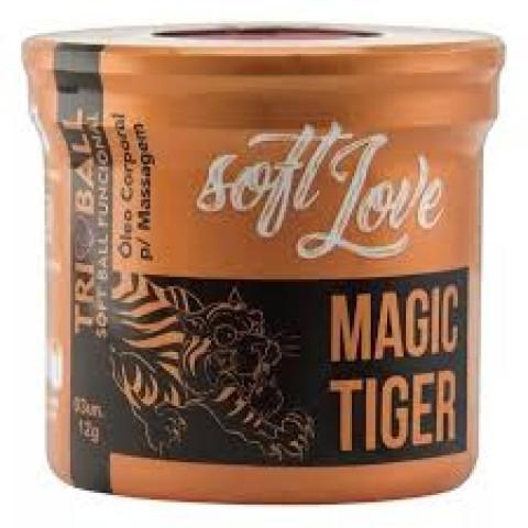 BOLINHA MAGIC TIGER 03 UNIDADES SOFT LOVE