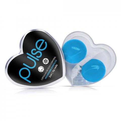 Pulse bolinha anestésico anal ice - 2 unidades