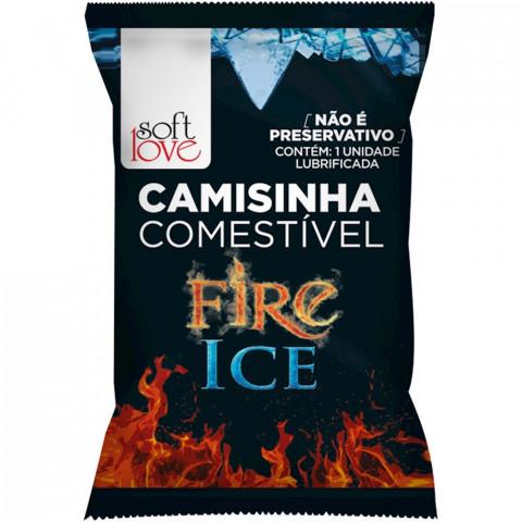 CAMISINHA COMESTÍVEL FIRE ICE SOFT LOVE