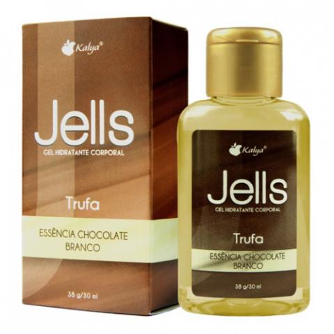 Jells Trufa  Gel Comestível HOT 30 ml - Sabores Diversos - Pina Colada
