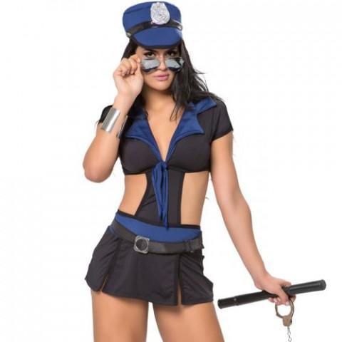 Kit Fantasia Policial Kate Sapeka