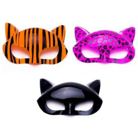 Máscara Plástica Gatinha