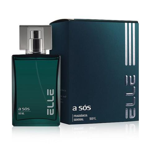 Perfume Feromônio Sensual Elle A Sós - 50ml