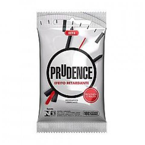 Preservativo Prudence Retardante Com 3 Unidades