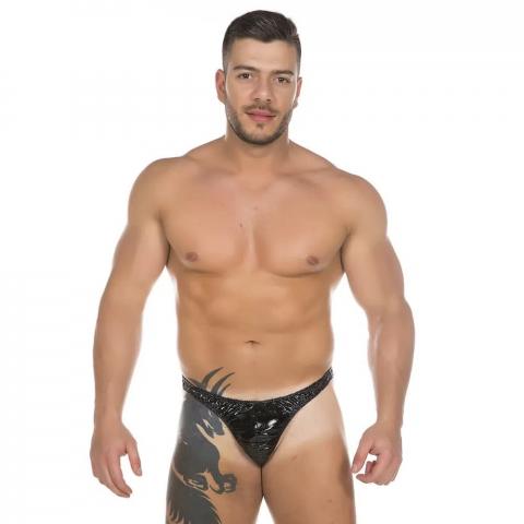 Cueca de couro sexy