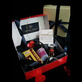 Caixa dos desejos - kit pequeno para o dia dos namorados