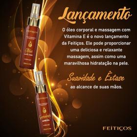 Óleo para Massagem em Spray 120ml- feitiços