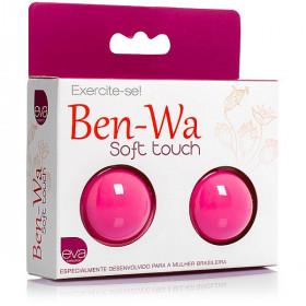 Ben-wa, para exercícios vaginais - em soft touch