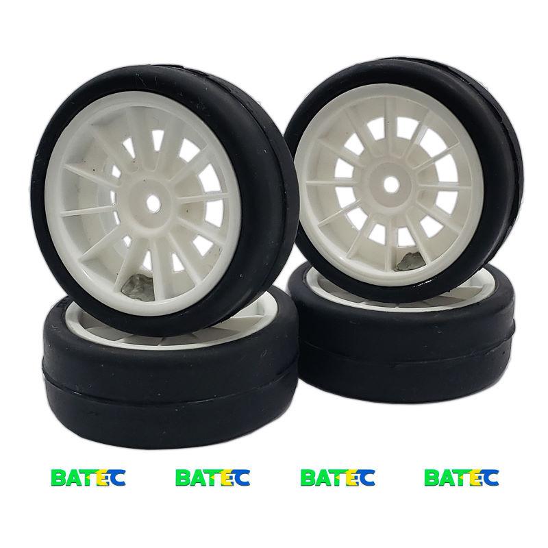Jogo de pneus 1:10 shore 34 - BATEC RC