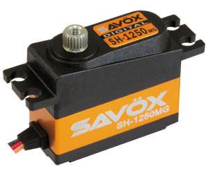 Mini servo digital SAVOX SH-1250 (6v, 4.6kg, 0.11s)