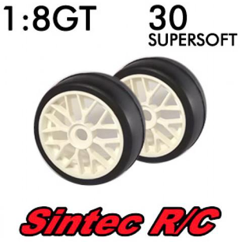 Pneus 1:8 GT Super Soft 30 - Sintec R/C
