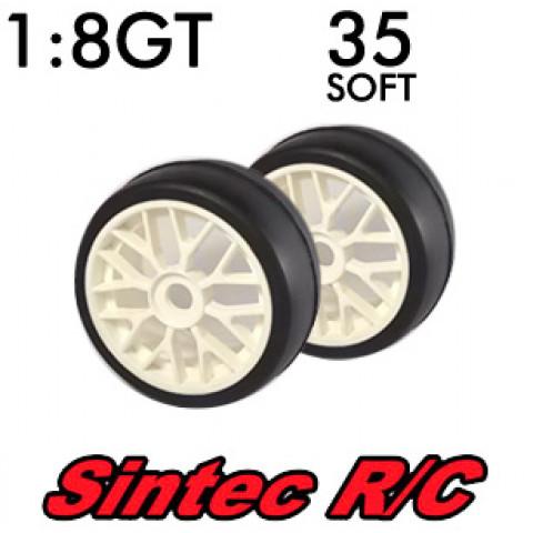 Pneus 1:8 GT Soft 35 - Sintec R/C