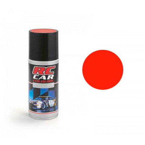 Tinta spray RC Car Colours - VERMELHO FLUORESCENTE (150ml)