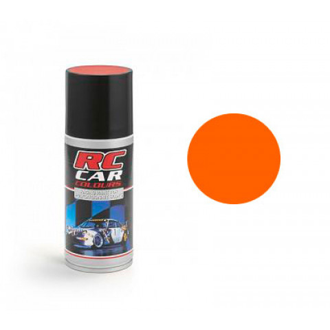 Tinta spray RC Car Colours - LARANJA FLUORESCENTE (150ml)