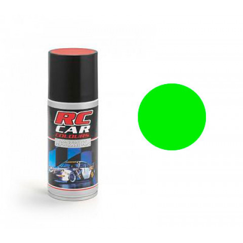 Tinta spray RC Car Colours - VERDE FLUORESCENTE (150ml)