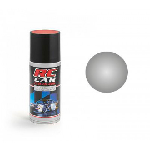 Tinta spray RC Car Colours - PRATA (150ml)