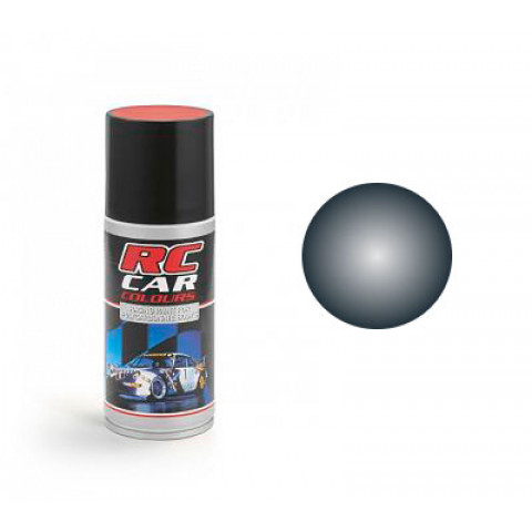 Tinta spray RC Car Colours - PRETO METÁLICO (150ml)