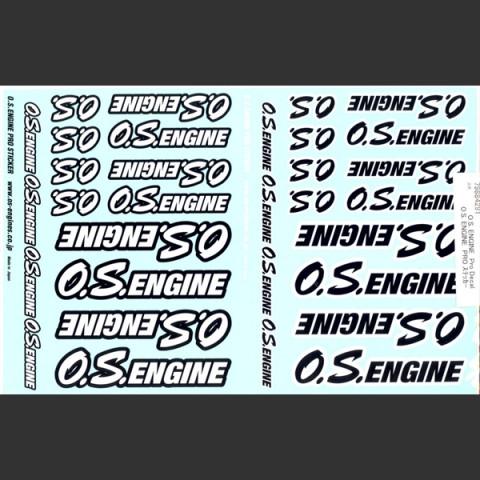 Adesivo O.S. Engines