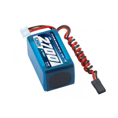 Bateria Lipo RX  7.4v 2700mA HUMP - LRP Electronic