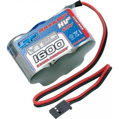 "Bateria RX 6.0v 1600mAh ""Hump"" LRP Electronic"