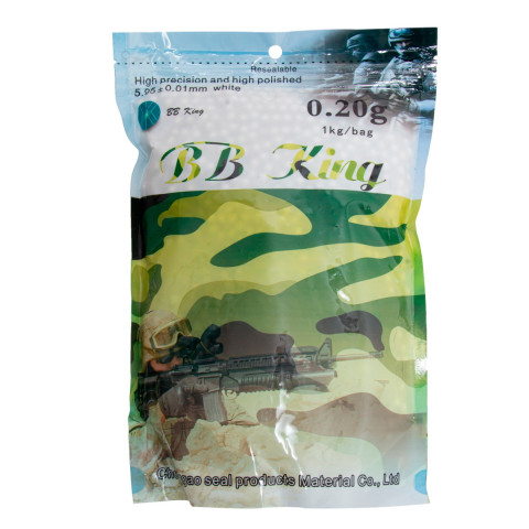 BBS 0.20g 6mm Airsoft - 5.000un - BB King