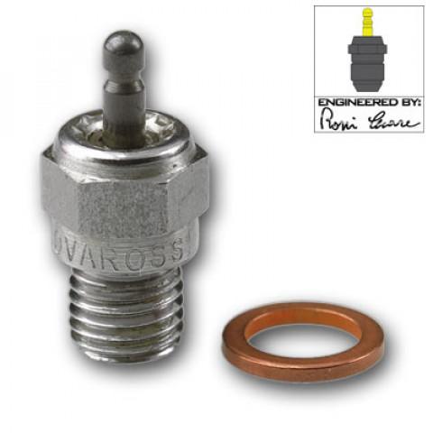 """C6S """"Special"""" Cold glowplug Novarossi (Vela tipo standard nº6)"""