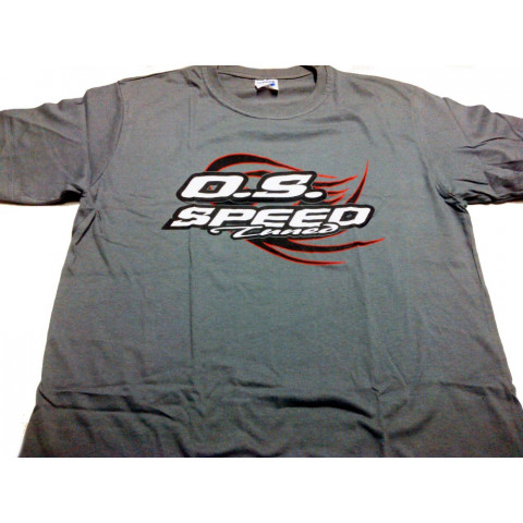 Camiseta O.S. Speed Cinza - Tam. M slim