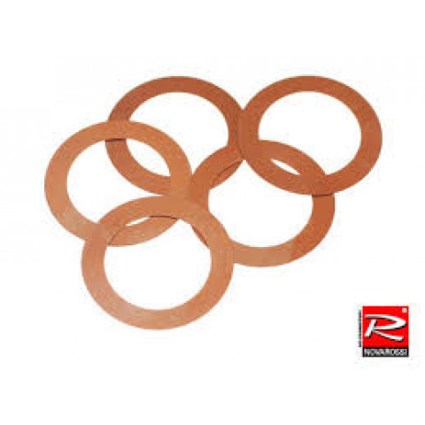 HEAD GASKET 3.5cc EXTRA LONG STROKE 0,10 BRASS p/ 21. (5PCS)