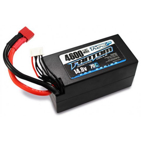 "Fantom LiPo Hardcase 4S 4600 ""Shorty"" - 70/140C - 14.8V"