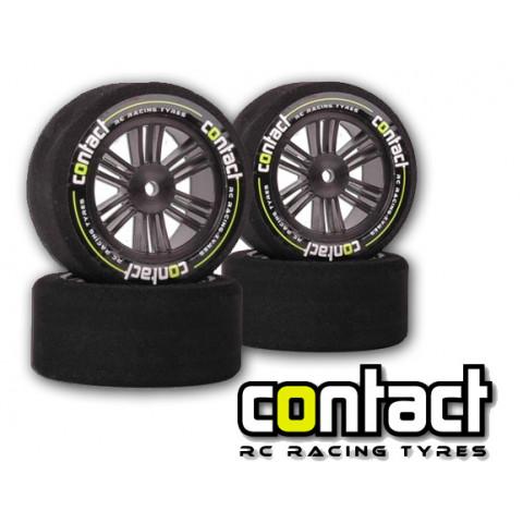 Jogo de pneus Contact 1:10 carbon 42/45
