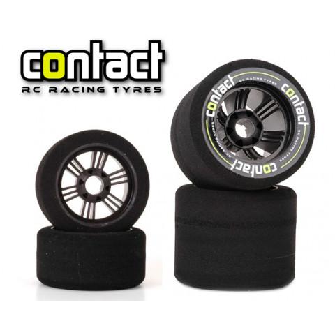 Jogo de pneus Contact 1:8 onroad 32/35sh (carbon)