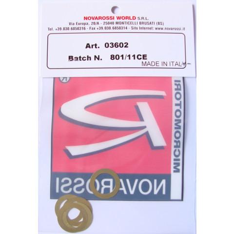 Juntas de cabeçote 0.15mm p/ motor .12