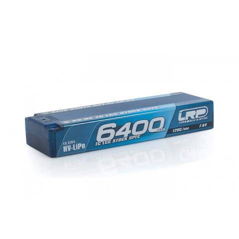 """LRP LiPo Hardcase 6400 HV """"Stockspec"""" - 120C/60C - 7.6V"""