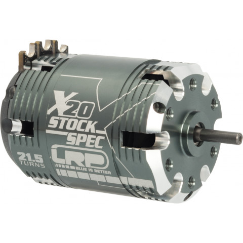 Motor brushless LRP X20 21.5t Stockspec