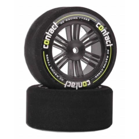 Pneus Contact Tyres 1:10 traseiro 30mm roda CARBON - 40º