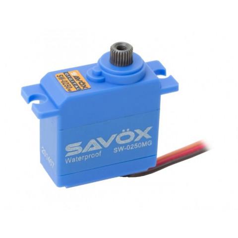 Mini servo digital SAVOX SW-0250 (6V, 5kg, 0.11s) - TRAXXAS 1/16