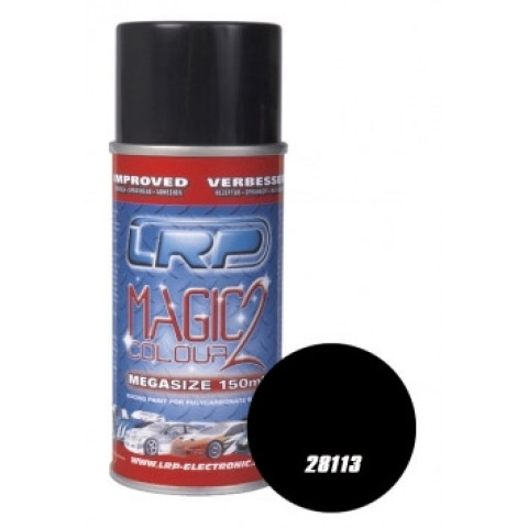 Tinta spray LRP Magic Color 2 - Preta