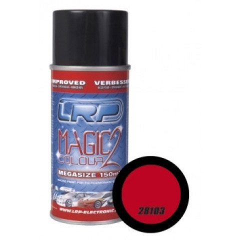 Tinta spray LRP Magic Color 2 - Vermelha