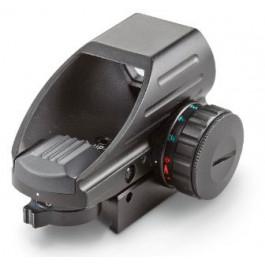 MIRA HOLOGRÁFICA RED DOT COMPACT COM 4 TIPOS DE RETÍCULOS PARA TRILHO 20mm - AIM SPORTS - RT4-06C