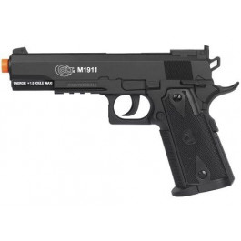 PISTOLA AIRSOFT CO2 COLT 1911 ABS BLACK