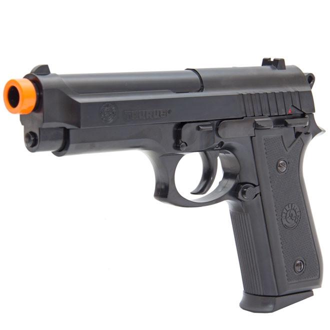 PISTOLA AIRSOFT (MOLA) TAURUS PT92 POWER BLACK - Cal 6mm CYBERGUN