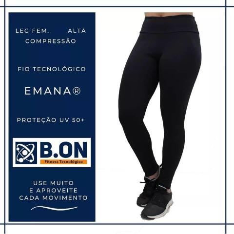 CALÇA / LEGGING FEMININA B.ON - COMPRESSÃO EMANA PLUS 290