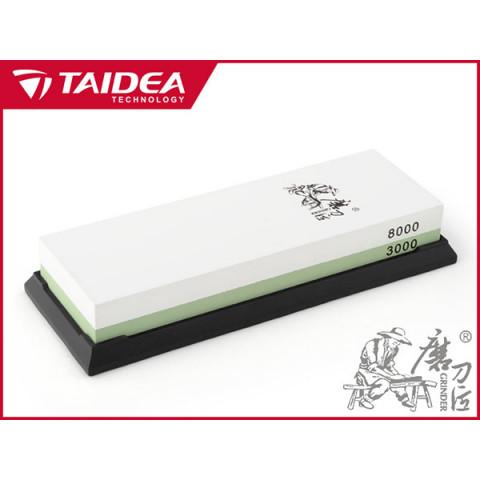 AFIADOR / AMOLADOR PEDRA  TAIDEA T0914W  DUPLA FACE (3000/8000)