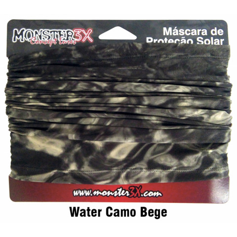 BANDANA MONSTER3X - WATER CAMO BEGE