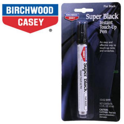 CANETA RETOQUE BIRCHWOOD CASEY SUPER PEN BLACK (ANODIZAÇÃO) - PRETO BRILHO