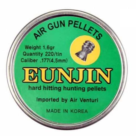 CHUMBINHO EUNJIN 4,5 mm (.177) - 16,1 GRAINS -  220 UNIDADES